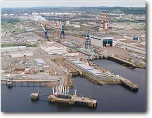 Saint John Shipyard – Before