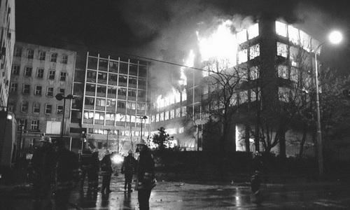 1999.04.23.NATO bombing RTS