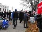 2009.HISF Rally.sidewalk
