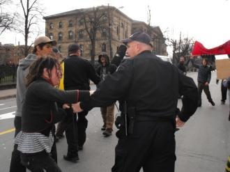 2009.HISF Rally.sidewalk 3
