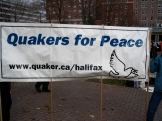 2009.HISF Rally.Quakers for Peace