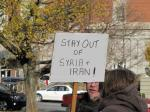 2012.11.17.Halifax.Stay Out of Syria & Iran