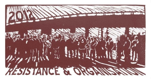2012.Year of Resistance and Organization