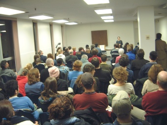 "Opening session of the Halifax Political Forums, January 29, 2003 on the topic ""Why Iraq?"""
