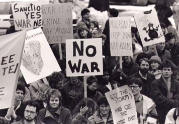 Halifax demonstration against the 1991 Persian Gulf War | Envision Productions