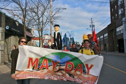 Halifax May Day 2013