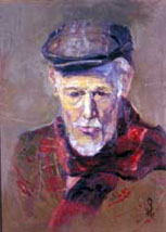 """The Veteran. WWII"" - award-winning portrait by Peggy Seed, 2003"
