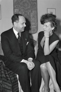 The Nazi's Los Angeles-based consul, Georg Gyssling Germany's Los Angeles consul and Nazi Party member Georg Gyssling, pictured here with Triumph of the Will director Leni Riefenstahl, monitored American films for the Nazis after his appointment in 1933.