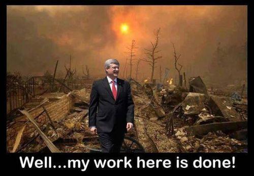Harper, my work is done
