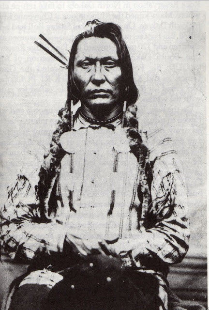 "In August 1876, Big Bear (Mistahi'maskwa), the Plains Cree chief, refused to sign Treaty No. 6, which covers much of modern Alberta and Saskatchewan, as it would impoverish his people and destroy their way of life. From that moment he strove to unite the Cree to affirm their hereditary rights and their right to be.  Allied with the Métis in their mutual fight for their rights and a fighter in the North West Rebellion, Big Bear was not captured until July 2, 1885, along with his youngest son, Horse Child. Although not a British subject, he was tried for so-called ""treason""-felony, found guilty and sentenced to three years in the Stony Mountain Penitentiary in Manitoba. He served two years. He died shortly after during the winter of 1887-88 on the Poundmaker Reserve in Saskatchewan.  After the NWMP executed Louis Riel on Nov. 16 for ""treason,"" the following day the NWMP hung eight First Nations warriors in its stockade at Battleford – the largest mass execution in recent Canadian history."
