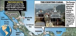 Nicarague Canal.map