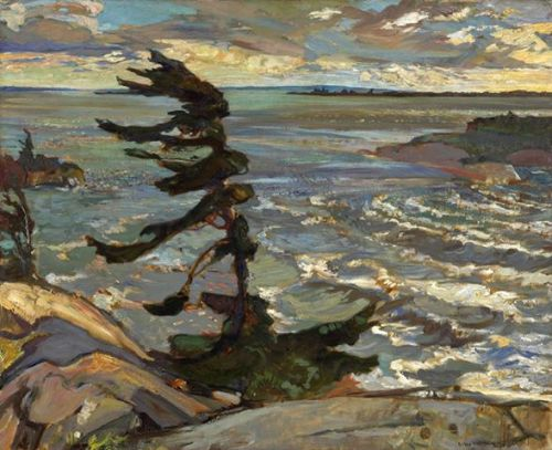 Stormy Weather, Georgian Bay, 1921.Fred Varley