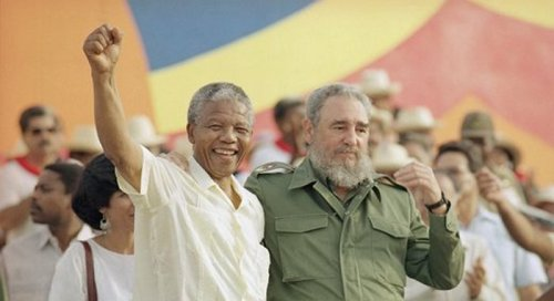 Nelson Mandela makes his historic visit to Cuba in 1991, to pay his respects to President Fidel Castro and the Cuban people for taking up the fight to end the racist apartheid regime as their own and at great sacrifice.