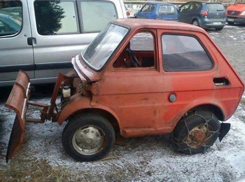 Atlanta calls in it's emergency reserve of snowplows! (Thanks Marty)