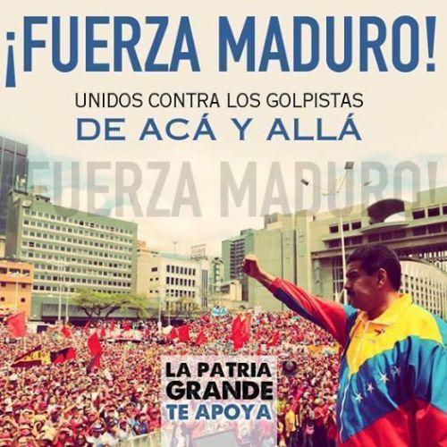 VENEZUELA –We Are Maduro • Chavez Vive • Hands Off Venezuela
