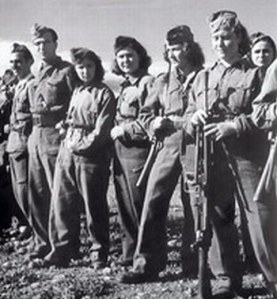 Greek women, ELAS fighters