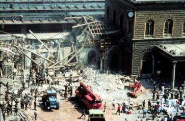 Massacre that struck the Italian city of Bologna on August 2nd, 1980