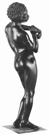 Before the slave trade, Europeans treated people of African descent with respect and honour. Bronze statuette of a youthful musician from the Greek Hellenistic Period. Source, Before Color Prejudice: The Ancient View of Blacks by Frank M. Snowden, Jr, from Shunpiking Magazine's Black History Supplement, 1998