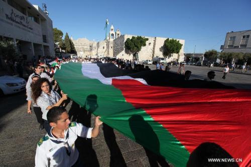 Bethleham, Palestine, July 17, 2014