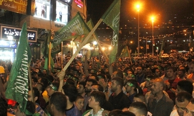Mass action in Nablus, Palestine, July 24 defends right to be.