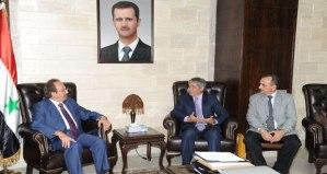 Syria-Cuba meeting