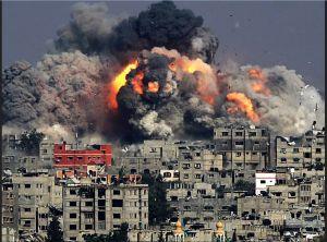 2014.Gaza destruction