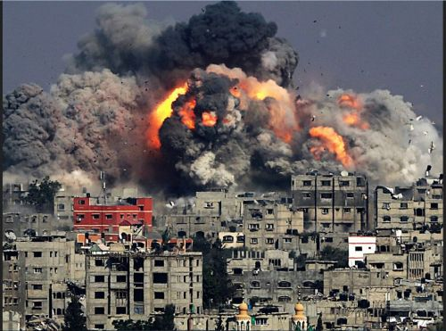 2014.Gaza destruction