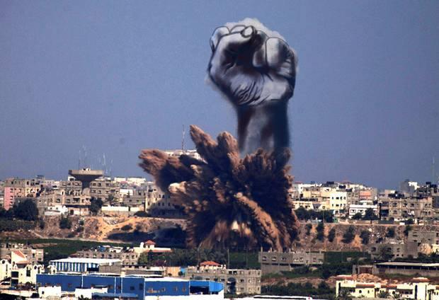 Gaza fist