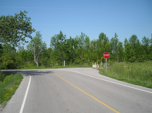 most useless stop sign in Ontario