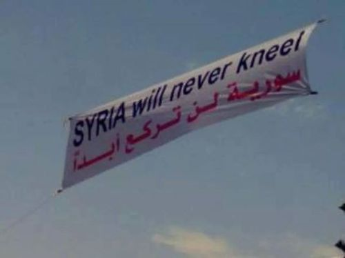 Syria will never kneel