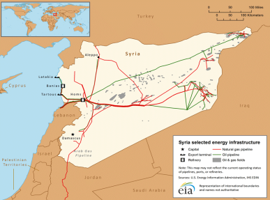 syria_selected energy infrastructure.map
