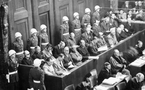 The principles established at the Nuremberg trials in 1945-46, following the victory over fascism affirmed that heads of state and other political leaders as well as the military leaders must be  held accountable and punished for crimes of aggression, breaking the peace and crimes against humanity. Today, 68 years after the conclusion of the main trial at Nuremberg, the U.S. and its allies including Canada are going all out to smash all the conclusions of Nuremberg.