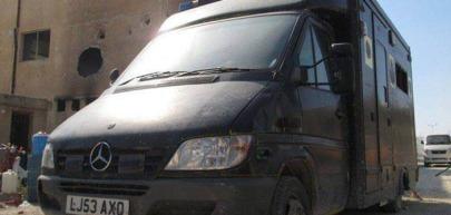 Turkish ambulance in Morek, Syria