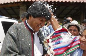Evo Morales.AP