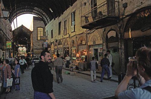 Damascus, Souk Al Bzouriyeh. Jerzy Strzelecki