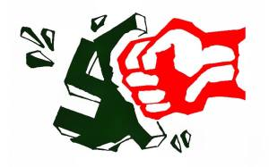 Fist-smashing-Nazi graphic