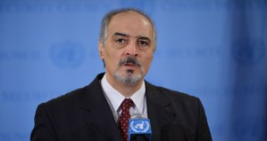 Dr. Bashar al-Ja'afari, Syria's Permanent representative to the United Nations