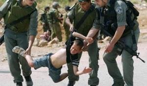 2014.12.30.IDF arrests boy