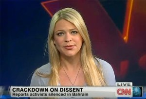 Amber Lyon on CNN, commenting on the March 2011 repression in Bahrain