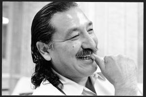 Leonard Peltier at Leavenworth, June 1992 | Jeffry Scott