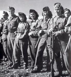 Greek women resistance fighters