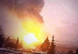 Israeli strike on Damascus international Airport, December 7, 2014