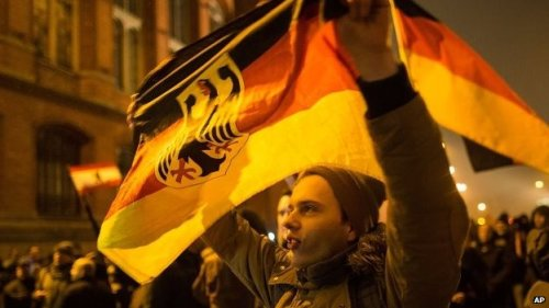 Pegida supporters were outnumbered at the Berlin march