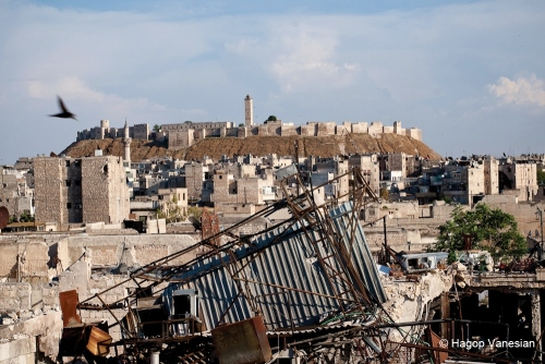 Syria.Old city of Aleppo.Hagop Vanesian