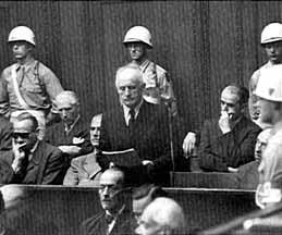 Julius Streicher makes final statement before his sentencing at Nuremberg Tribunal | A. Moran, Wikipedia