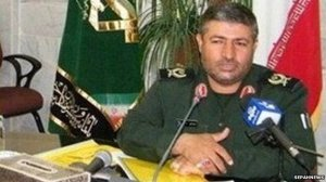 Iranian Revolutionary Guard Brigadier-General Mohammed-Ali Allahdadi, killed by Israel on January 18, 2015.