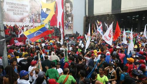Venezuelan Youth Day celebrated, February 12, 2015. (Click to enlarge)