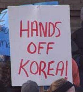 Hands off Korea