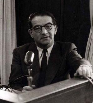 Rudolph Kastner, circa 1950 in Israel.