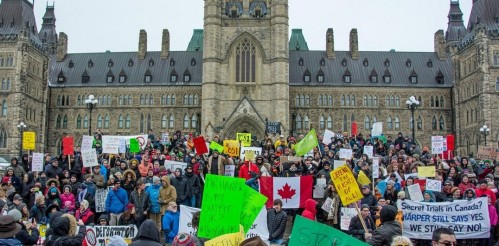 Day of Action against Bill C-51, March 14, 2015 (Click to enlarge)
